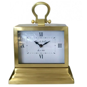 Carriage Clock - Gold