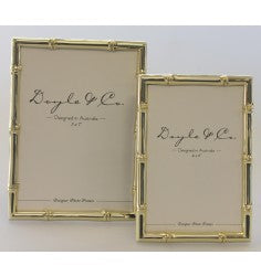 Bamboo Photo Frame - Gold - 10cm x 15cm