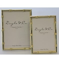 Bamboo Photo Frame - Gold - 13cm x 18cm