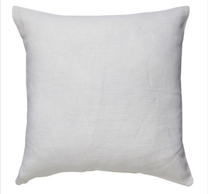Linen White Cushion - Square