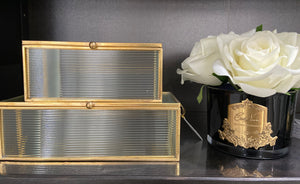 Karly Gold Glass Box Set