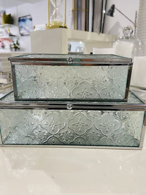 Marly Filigree Glass Box Set/2