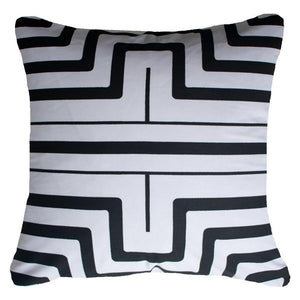 Hedge Screen Lounge Cushion - Black - 55cm