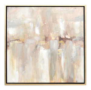Shimmer of Gold - Canvas - 850mm x 850mm