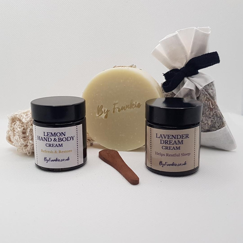 Lavender and Lemon gift set
