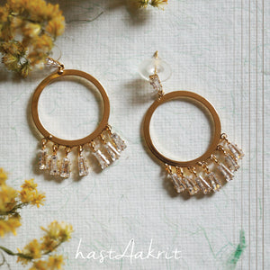 MERRY-GO-ROUND Drop Earrings