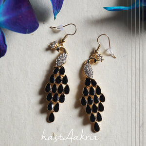 PEACOCK Drop Earrings