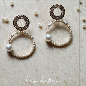 DISCO PEARLS Drop Earrings