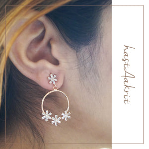 POWDER PUFF Earrings