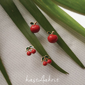 FRUIT BOWL STUDS TRIO
