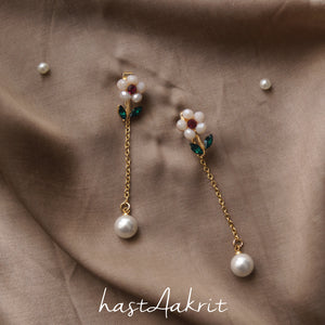 CLOVER CONVERTIBLE DROP STUDS