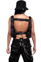 Load image into Gallery viewer, Crimson Unisex Chest Vest