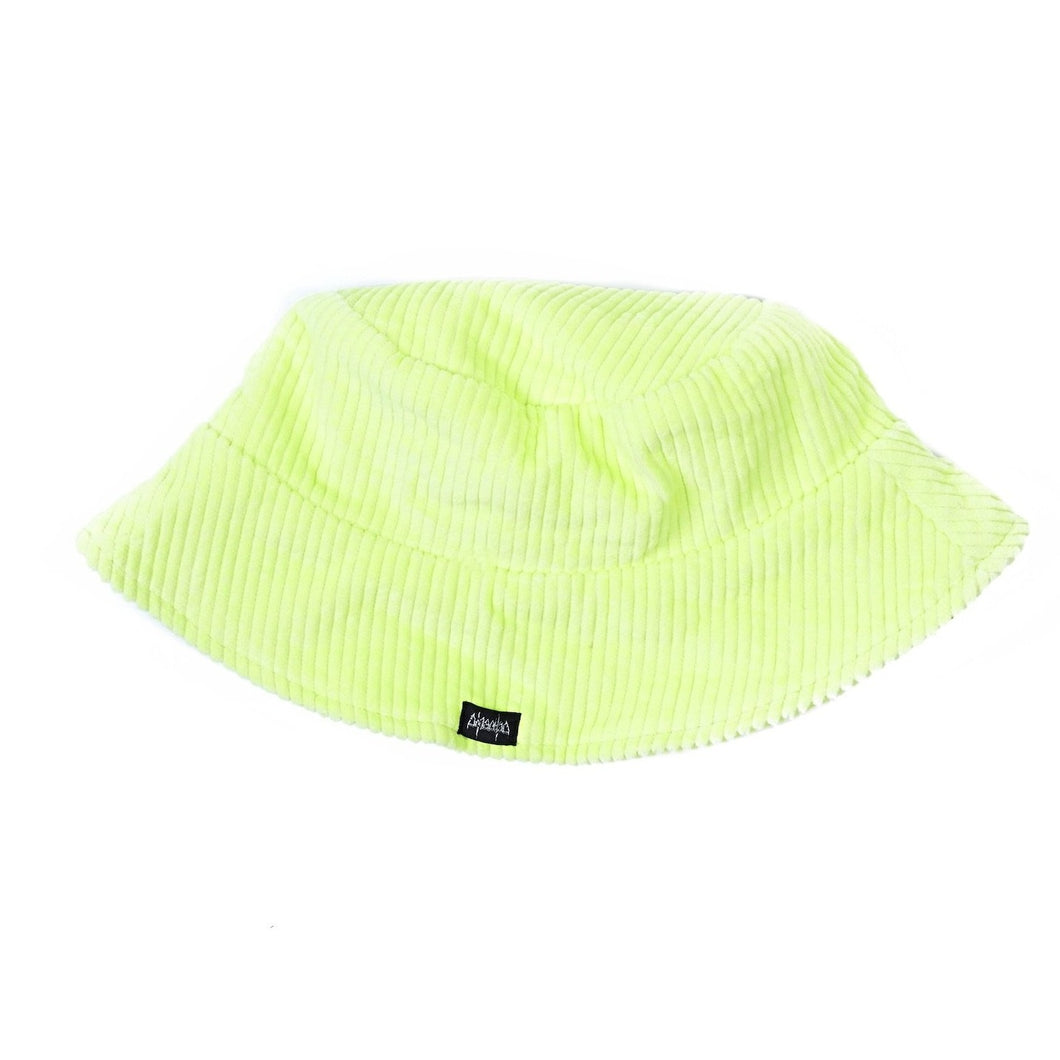 Baby Corduroy Bucket Hat - Yellow