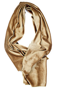 Reign Velour Scarf - Olive