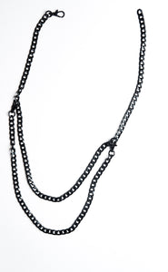 Noir Double Body Chain