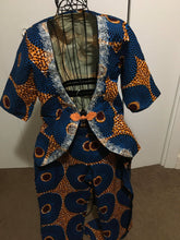 Load image into Gallery viewer, African Print Pants Suit