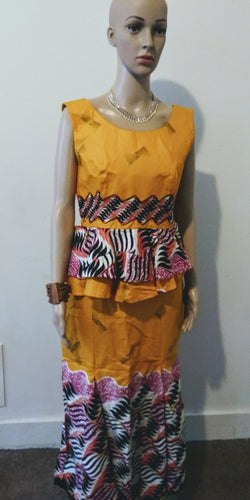 African Print Outfit