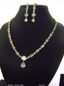 Full White Gold Necklace