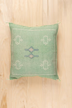 Load image into Gallery viewer, Rainbow Red Stripe Mayan Huipil Pillow Collection
