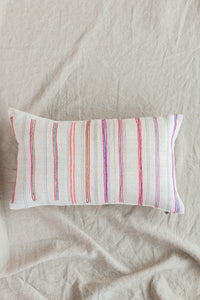 Stripe Mini Lumbar Pillow
