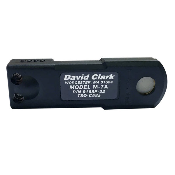 David Clark M-7A Microphone-David Clark-Downunder Pilot Shop Australia