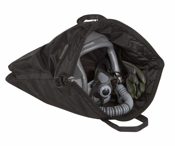 Flyboys FODefender Helmet Bag - Black-FlyBoys-Downunder Pilot Shop Australia