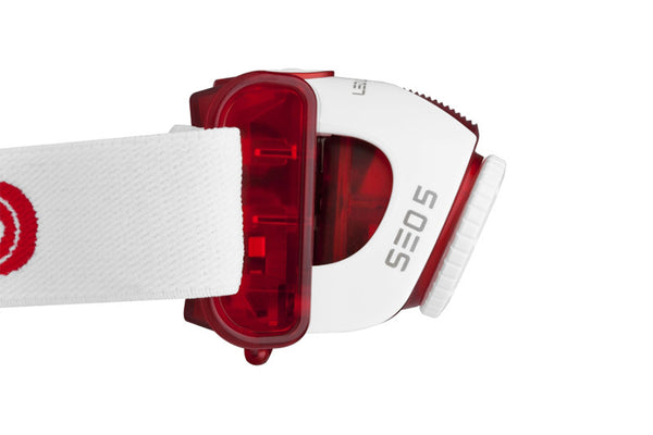 LED Lenser SEO 5 Headlamp - Red-LED Lenser-Downunder Pilot Shop Australia