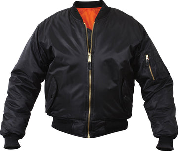 MA1 Black Flight Jacket