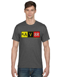 AV8R (Aviator) Taxiway Sign T-Shirt-ASUSA-Downunder Pilot Shop Australia