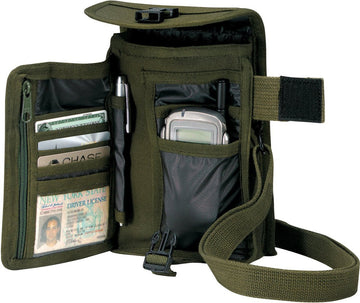Rothco Canvas Travel Portfolio - Olive