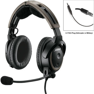 Bose A20 Helicopter, 5ohm Dynamic Mic, Non-Bluetooth (Special Order)