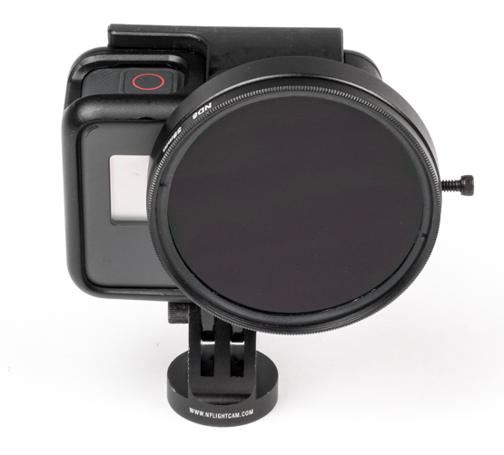Nflightcam 58mm ND8 Filter and Adapter for GoPro Hero5, Hero6 and Black-NFlight-Downunder Pilot Shop Australia
