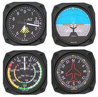 Trintec Coasters Flight Instrument Set-Trintec-Downunder Pilot Shop Australia