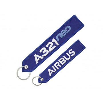 Airbus A321neo Keychain
