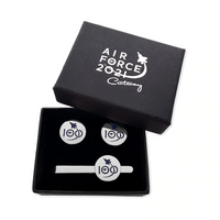 Air Force 100 Cufflinks and Tie Bar Boxed Set