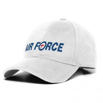 Air Force Cap - White