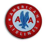 American Airlines Iron-On Badge-Aviation Collectables-Downunder Pilot Shop Australia