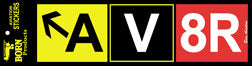 AV8R Bumper Sticker