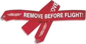ASA Remove Before Flight Banner-ASA-Downunder Pilot Shop Australia