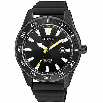 Citizen Men's Stainless Steel Quartz Watch BI1045-13E - Black