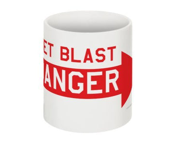Danger Jet Blast Coffee Mug