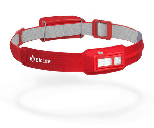 BioLite Headlamp Recharge 330L Grey-BioLite-Downunder Pilot Shop Australia