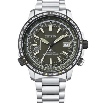 Citizen Promaster Eco-Drive Radio Controlled CB0206-86X