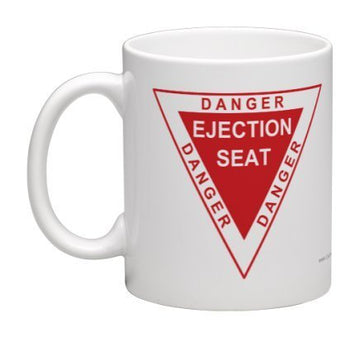 Danger Ejection Seat Coffee Mug