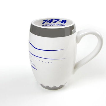 Boeing 747-8 Intercontinental Engine Mug