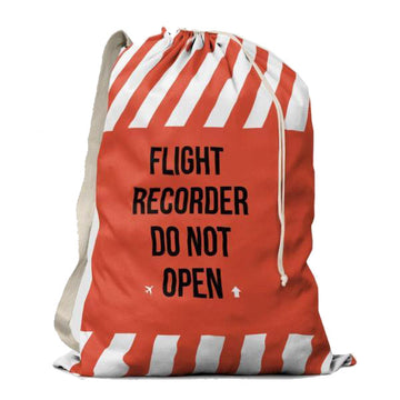 Flight Recorder Drawstring Bag