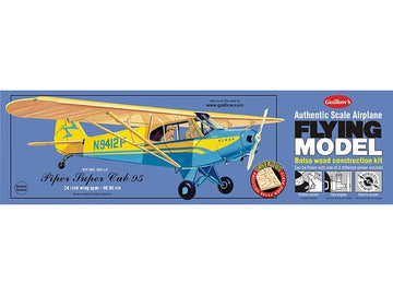 Guillows Piper Super Cub 95 Rubber-Powered Balsa Model Kit