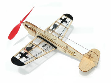 Guillows miniModels German Fighter Rubber-Powered Balsa Model Kit