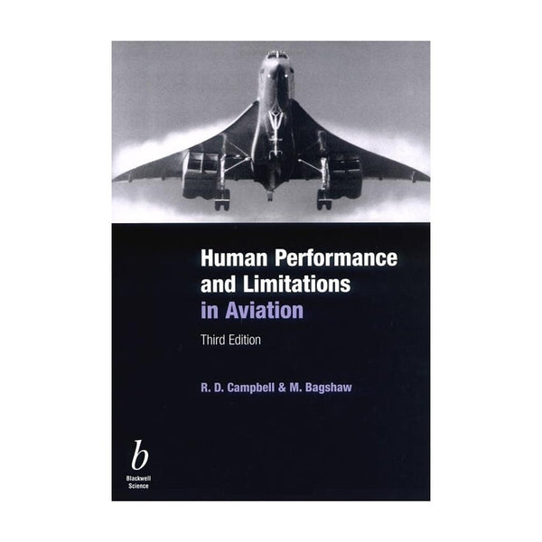 Human Performance and Limitations in Aviation-BDUK-Downunder Pilot Shop Australia