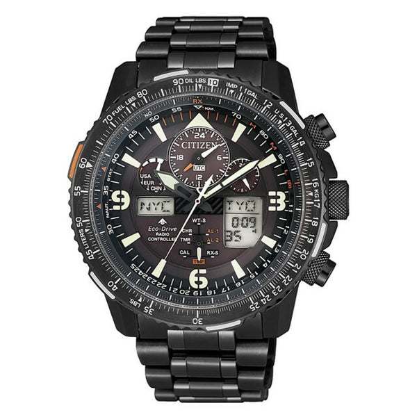 Citizen Promaster Sky - Black Night Hawk - JY8085-81E-Citizen-Downunder Pilot Shop Australia